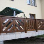 Balustrady drewniane Kraków